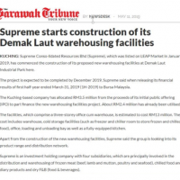 Supreme's Demak Laut Warehouse Construction